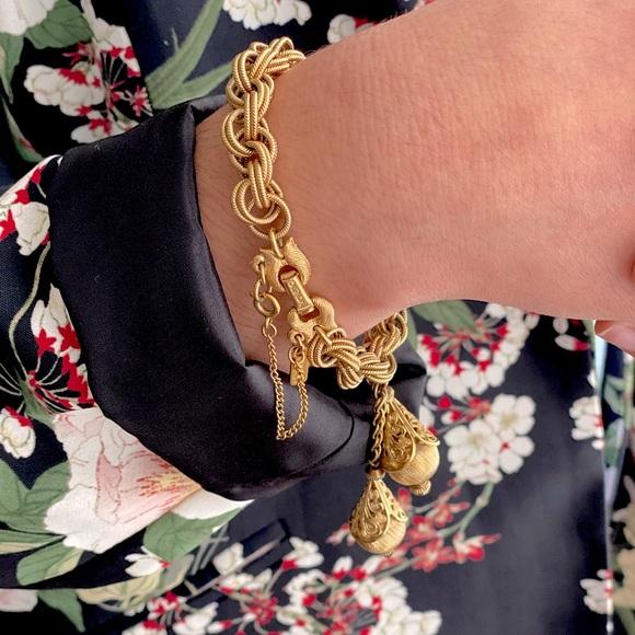 Vintage Monet Bolero Tassel Bracelet